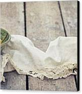 Loosely Draped Canvas Print by Priska Wettstein