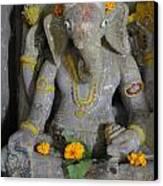 Lord Ganesha Canvas Print by Makarand Kapare