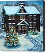 Louisa May Alcott's Christmas Canvas Print by Rita Brown