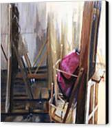 Louvre Closet Canvas Print by Shelley Irish