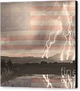 Love For Country Canvas Print by James BO  Insogna