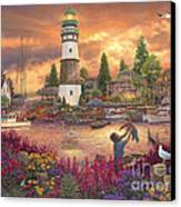 Love Lifted Me Canvas Print by Chuck Pinson