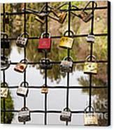 Love Locks Canvas Print by Juan Romagosa
