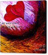 Love Of The Lord Canvas Print by Amanda Dinan