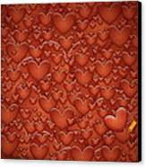 Love Patches Canvas Print by Gianfranco Weiss