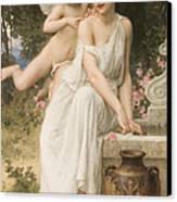 Loves Whisper Canvas Print by Charles Lenoir