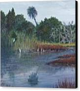 Low Country Social Canvas Print by Ben Kiger