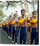 Lsu Marching Band 3 Canvas Print by Steve Harrington
