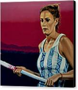 Luciana Aymar Canvas Print by Paul Meijering