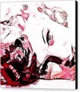 Lucille Ball Canvas Print by D Walton