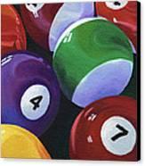 Lucky Seven Canvas Print by Natasha Denger