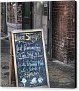 Lunch Specials Canvas Print by Brenda Bryant