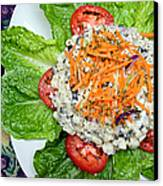 Macaroni Salad 1 Canvas Print by Andee Design