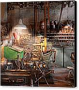 Machinist - It All Starts With A Journeyman  Canvas Print by Mike Savad
