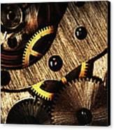 Macro Mechanic Canvas Print by Svetoslav Sokolov