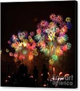 Macy's July 4th Fireworks New York City  Canvas Print by Nishanth Gopinathan