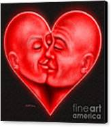 Mad Love Canvas Print by Cristophers Dream Artistry