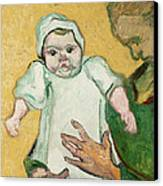 Madame Roulin And Her Baby Canvas Print by Vincent Van Gogh