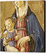 Madonna And Child Canvas Print by Domenico Bigordi Domenico Ghirlandaio