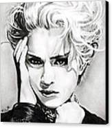 Madonna Canvas Print by Fred Larucci