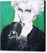 Madonna  Canvas Print by Jade Pasteur