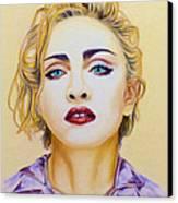 Madonna Canvas Print by Rebelwolf