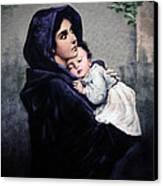 Madonnina Canvas Print by A Samuel