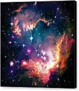 Magellanic Cloud 1 Canvas Print by The  Vault - Jennifer Rondinelli Reilly
