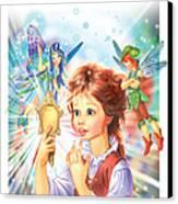 Magic Mirror Canvas Print by Zorina Baldescu