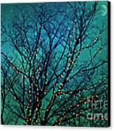 Magical Night Canvas Print by Sylvia Cook