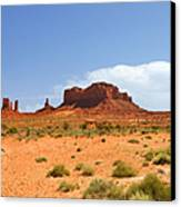 Magnificent Monument Valley Canvas Print by Christine Till