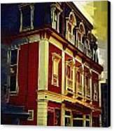Main Street Usa Canvas Print by Kirt Tisdale