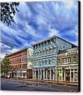 Main Street Usa Canvas Print by Tom Mc Nemar