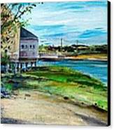 Maine Chowder House Canvas Print by Scott Nelson