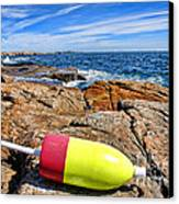 Maine Coast Canvas Print by Olivier Le Queinec