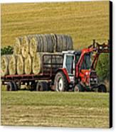 Make Hay When Sun Shines Canvas Print by Paul Scoullar