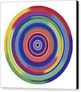 Mandala 3 Canvas Print by Rozita Fogelman