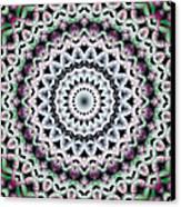 Mandala 40 Canvas Print by Terry Reynoldson