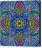 Mandala Madness Canvas Print by Matt Molloy