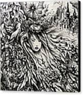 Mandee's Dream Canvas Print by Rachel Christine Nowicki