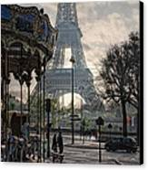 Manege Parisienne Canvas Print by Joachim G Pinkawa
