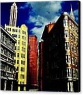 Manhattan Highlights Canvas Print by Benjamin Yeager