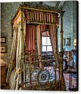 Mansion Bedroom Canvas Print by Adrian Evans