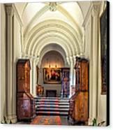 Mansion Hallway IIi Canvas Print by Adrian Evans