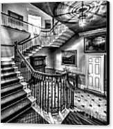 Mansion Stairway V2 Canvas Print by Adrian Evans