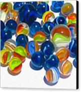 Marbles Canvas Print by Dale Jackson