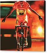Marco Pantani Canvas Print by Paul Meijering