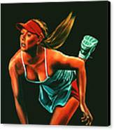 Maria Sharapova  Canvas Print by Paul Meijering