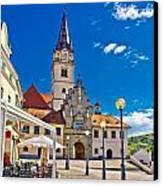 Marija Bistrica Marianic Sanctuary In Croatia Canvas Print by Dalibor Brlek