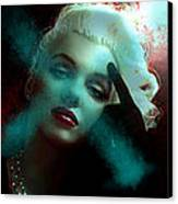 Marilyn 128 Tryp  Canvas Print by Theo Danella